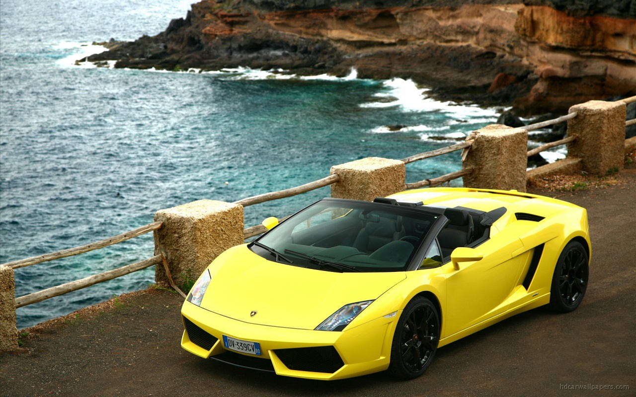 2009 Gallardo LP560 4 spyder 2 Backgrounds