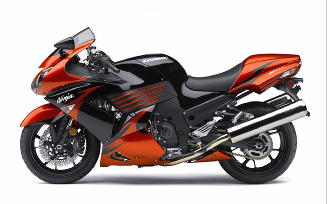 2009 Kawasaki Ninja ZX 14 Backgrounds