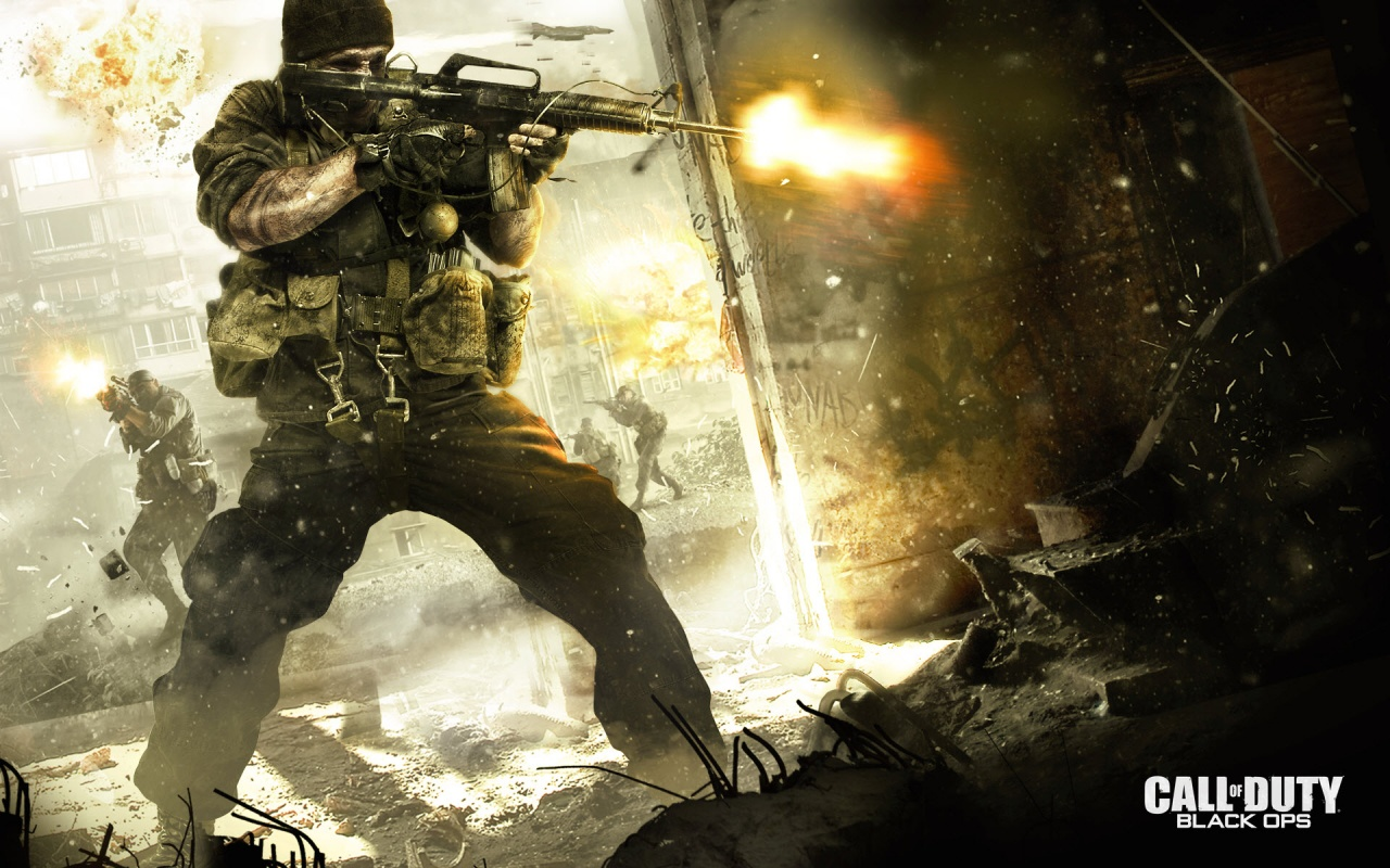 2010 Call Of Duty Black Ops Backgrounds
