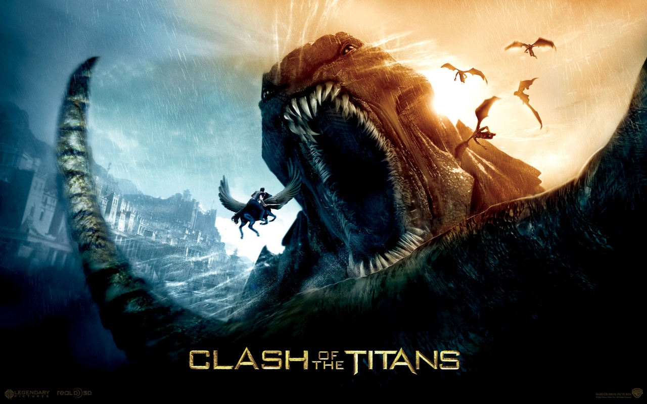 2010 Clash Of The Titans Ligendary Backgrounds