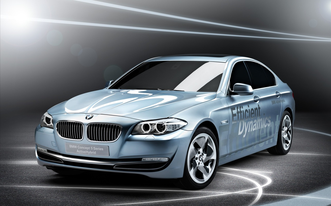 2010 Series 5 Active Hybrid Concept Backgrounds