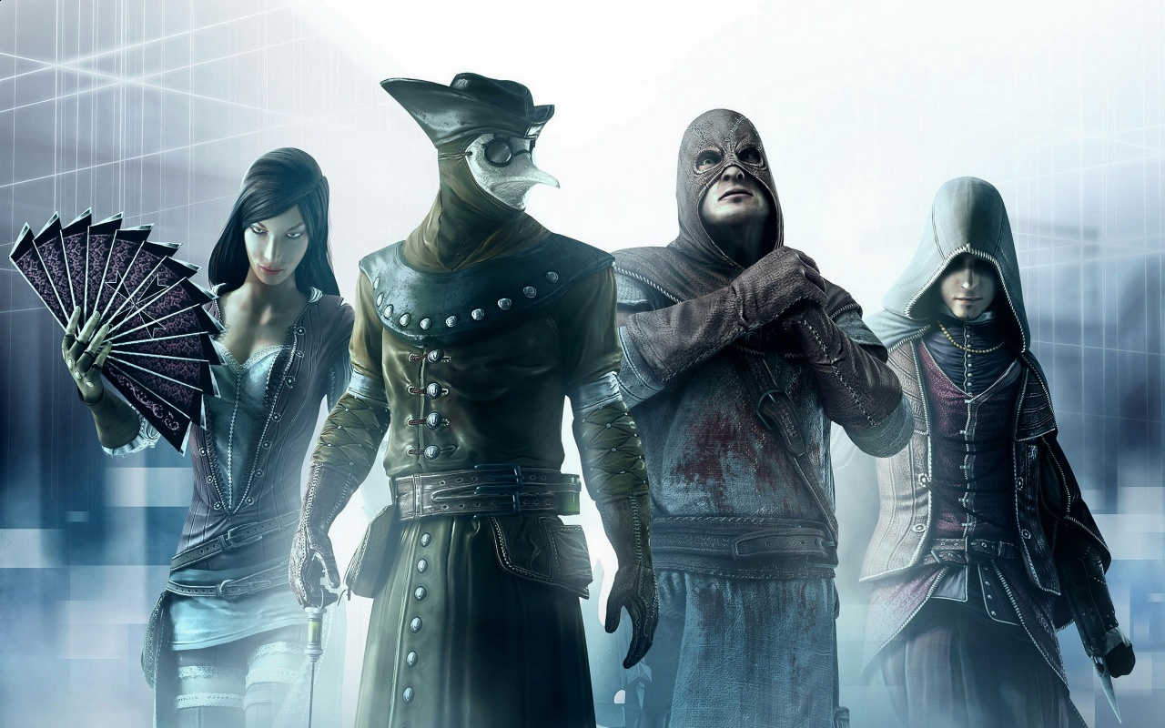 Assassins Creed Brother hood Backgrounds