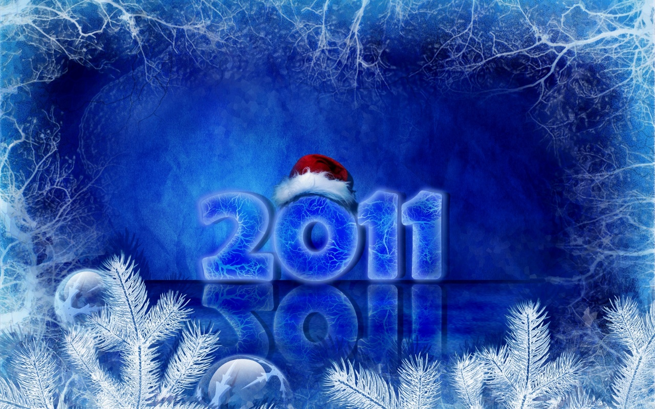 2011 New Year Christmas Backgrounds