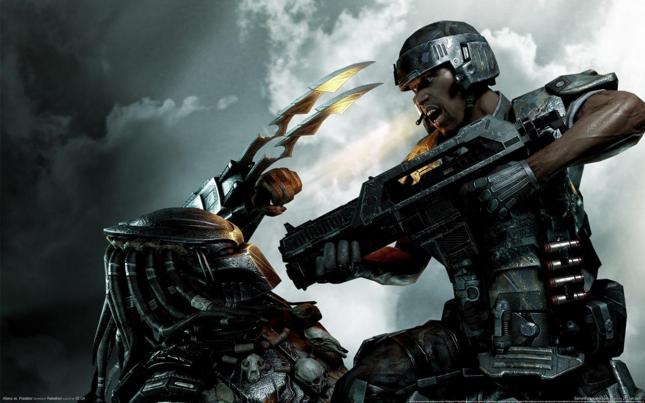 Aliens Vs Predator Game Backgrounds
