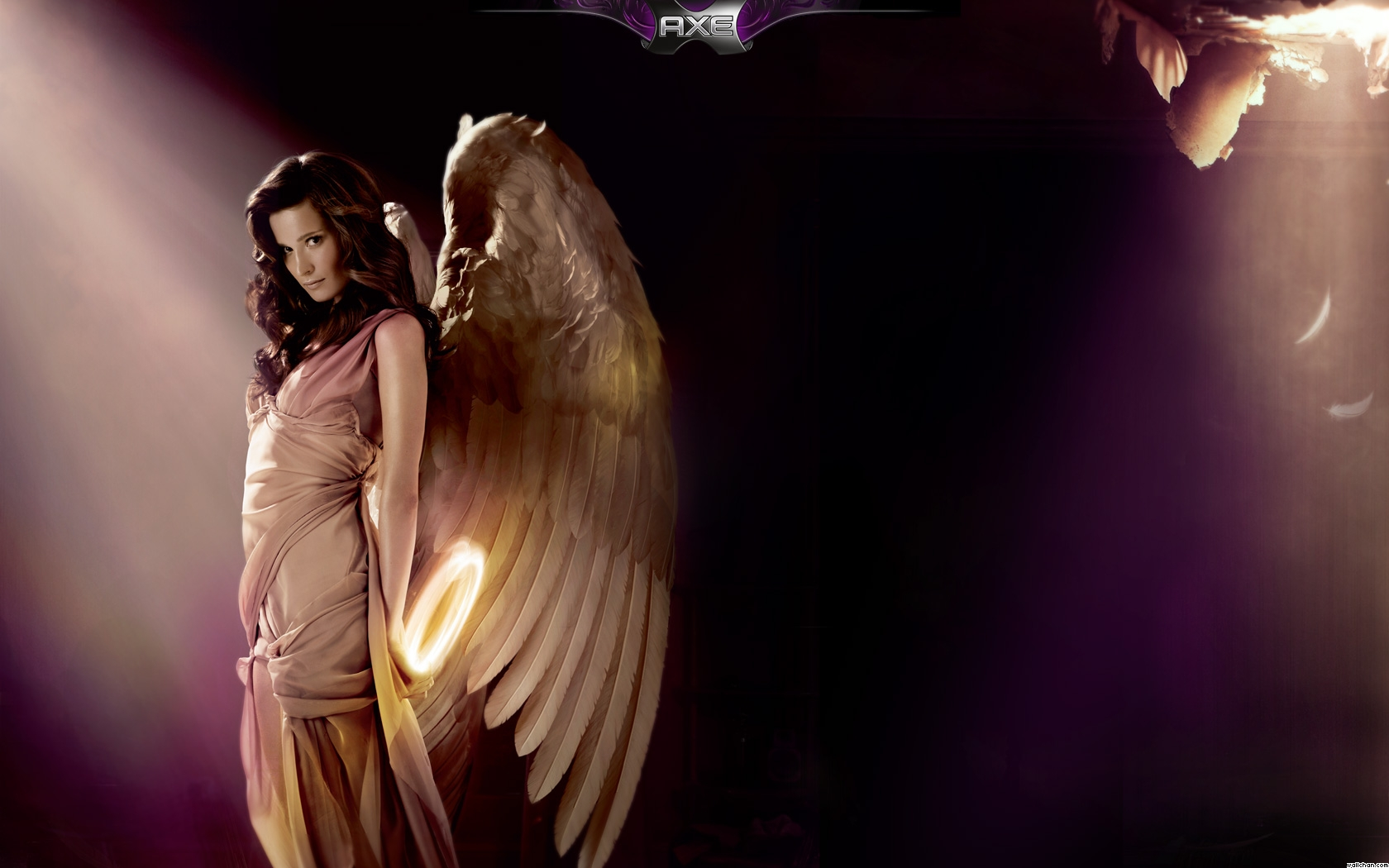 Axe Excite Brunette Angel Backgrounds