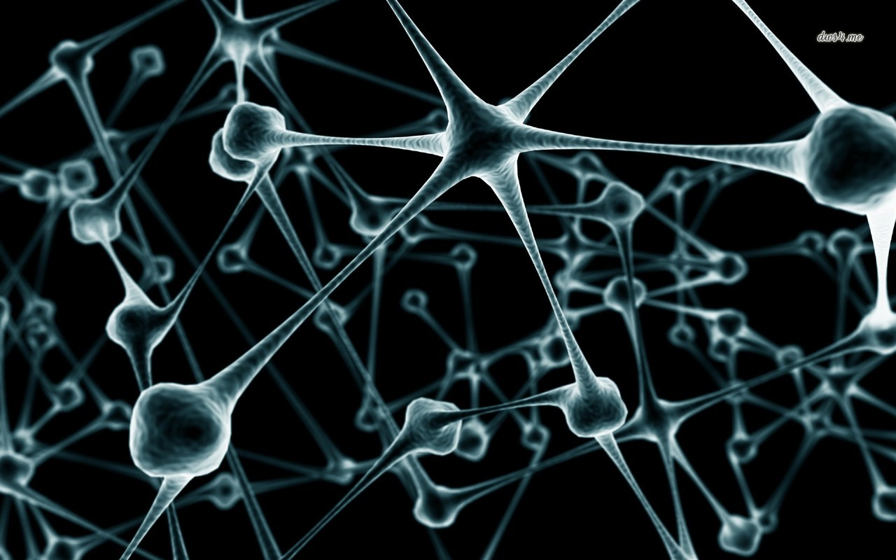 B&W Neurons Backgrounds