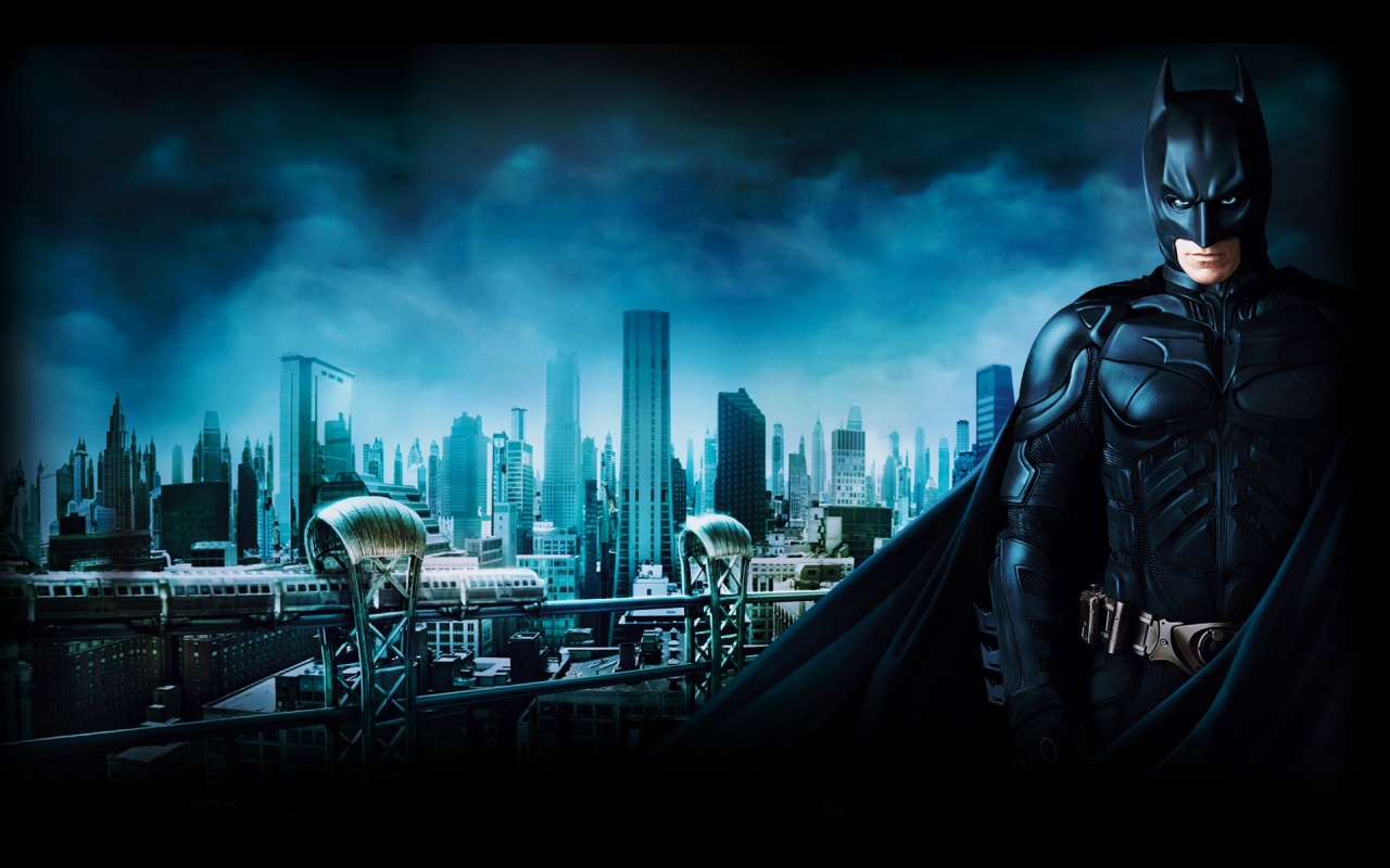 Batman 3 Gotham City Backgrounds