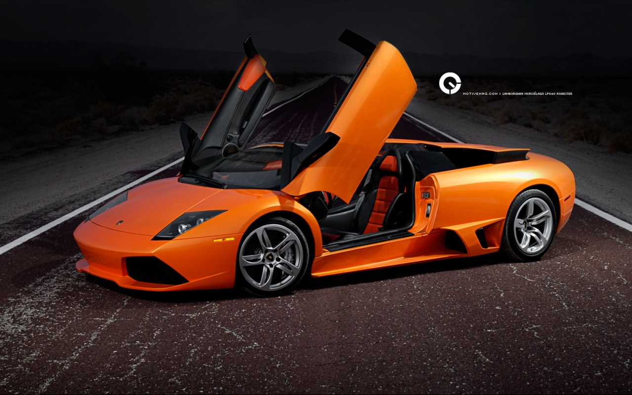 Beautiful Orange Murcielago Backgrounds