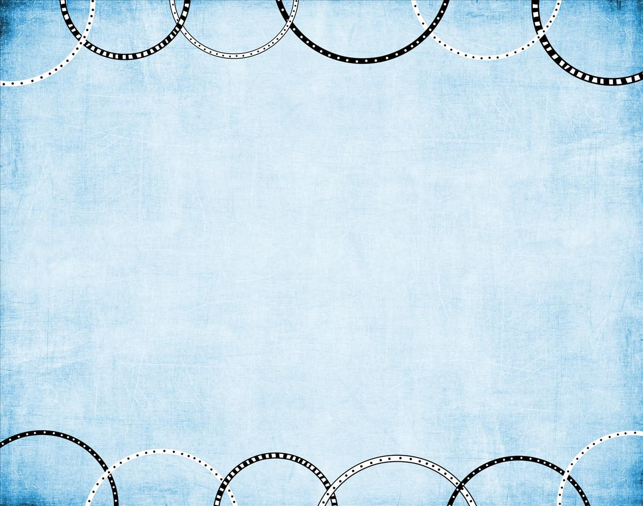 Blue with Rings Backgrounds