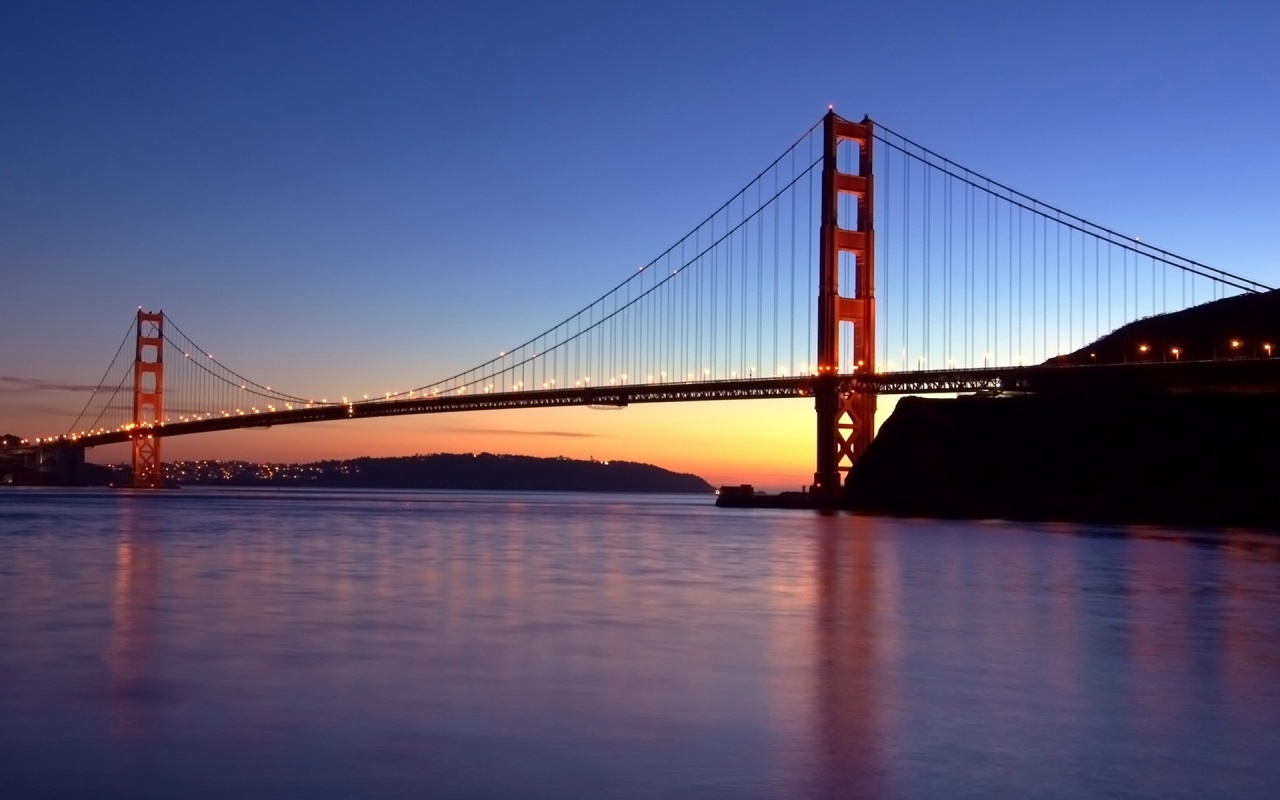 California Gate Bridge Backgrounds
