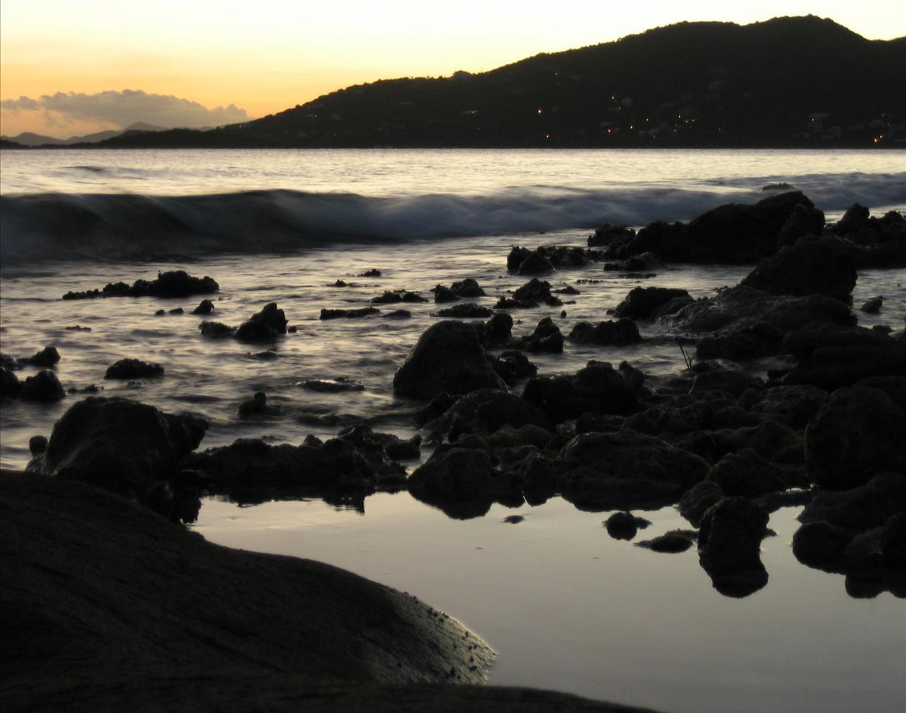 Caribbean Sunset Backgrounds