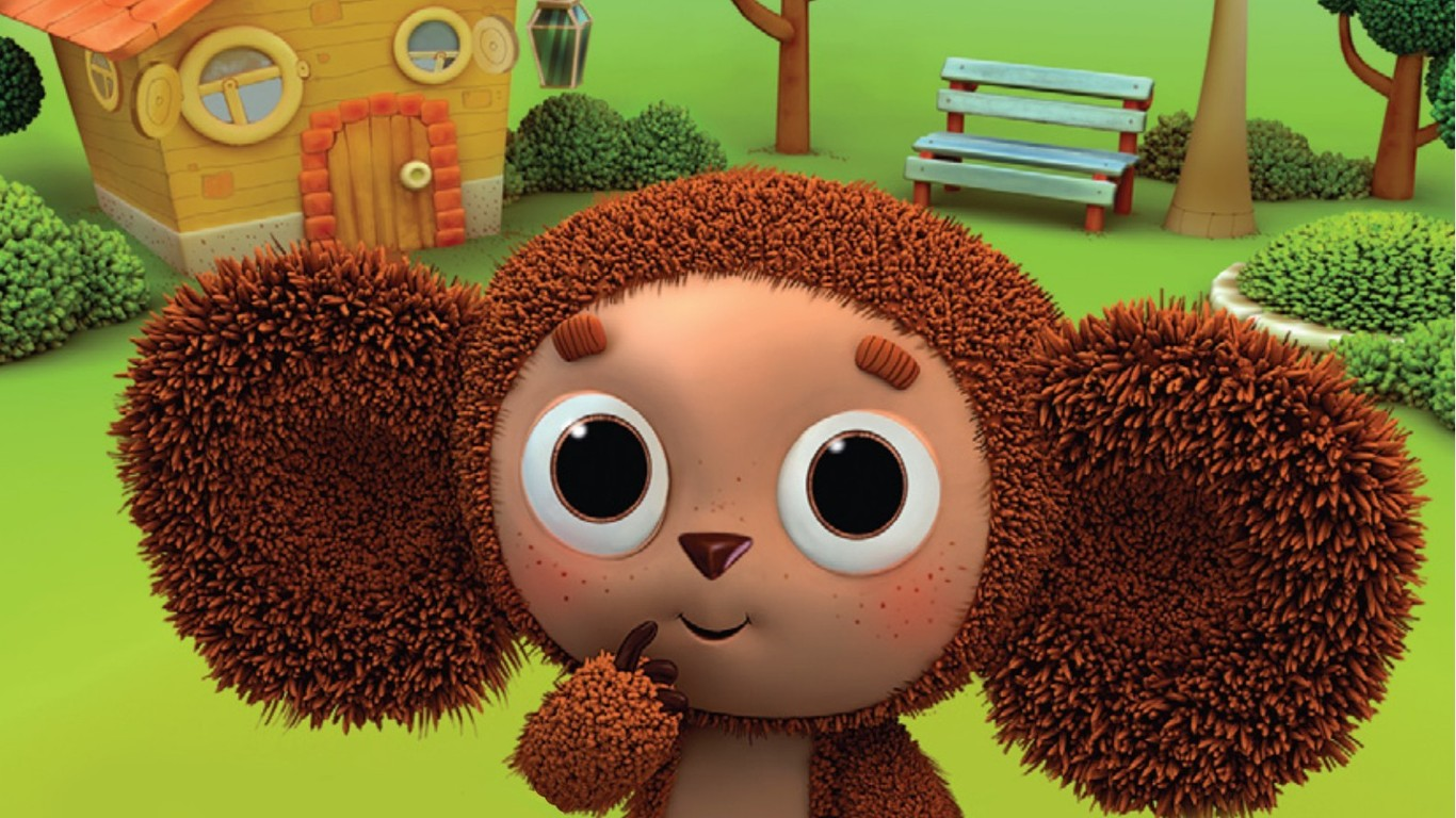 cheburashka, baby cartoon Backgrounds