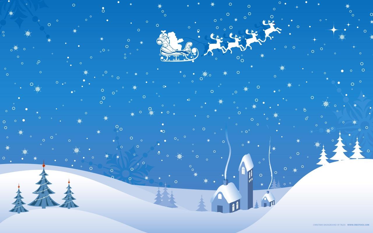 Christmas Winter Vector Art Backgrounds