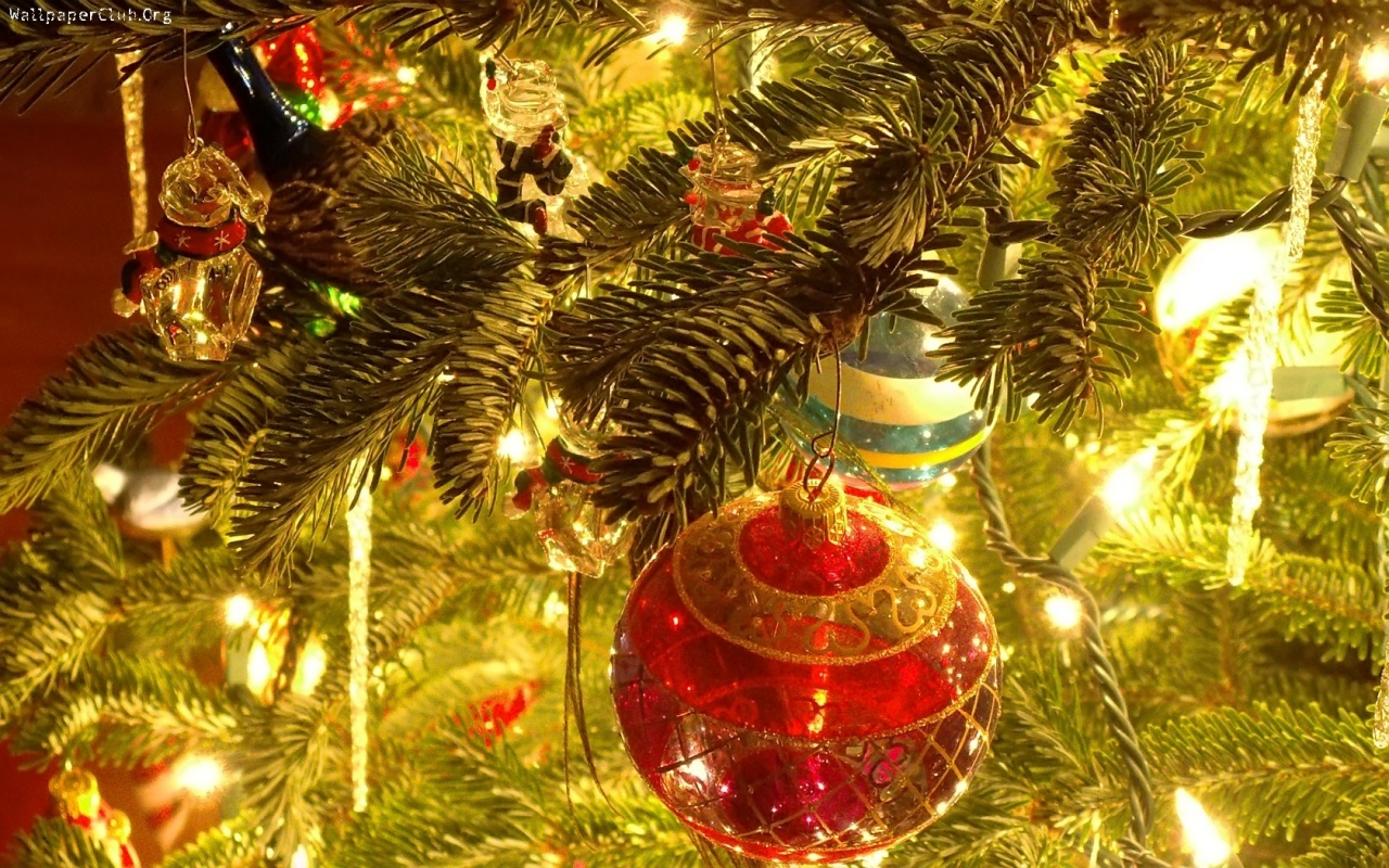 Decorated Christmas Tree Backgrounds