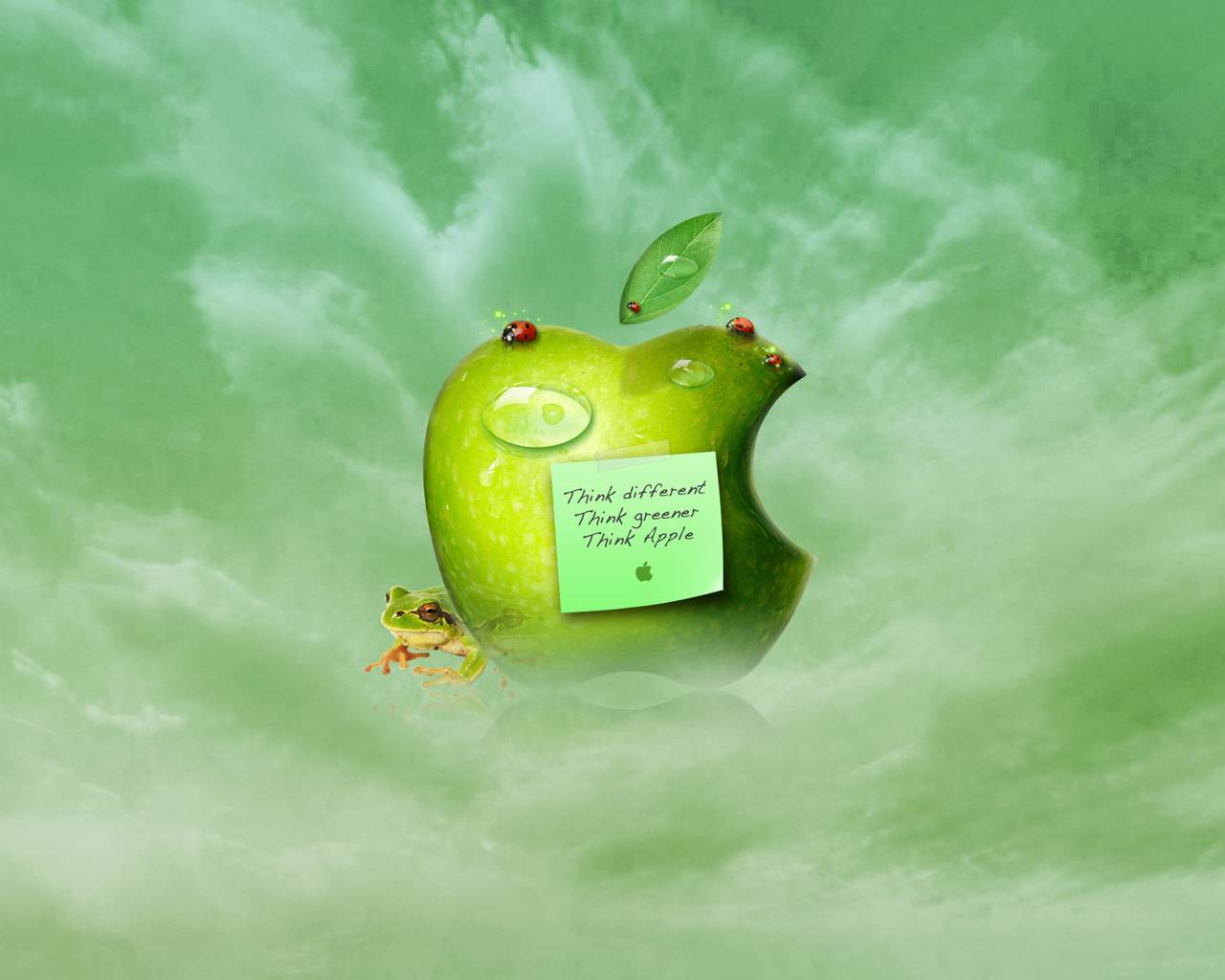 Different Think Autumn Background Apple Computers Backgrounds