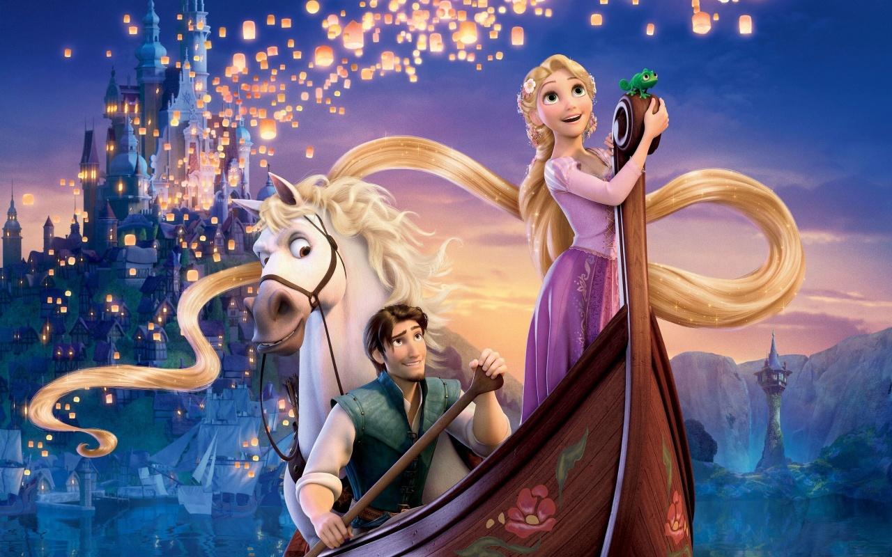 Disneys Movie Tangled Backgrounds