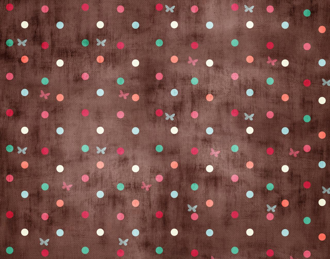Dots and Butterfly Backgrounds