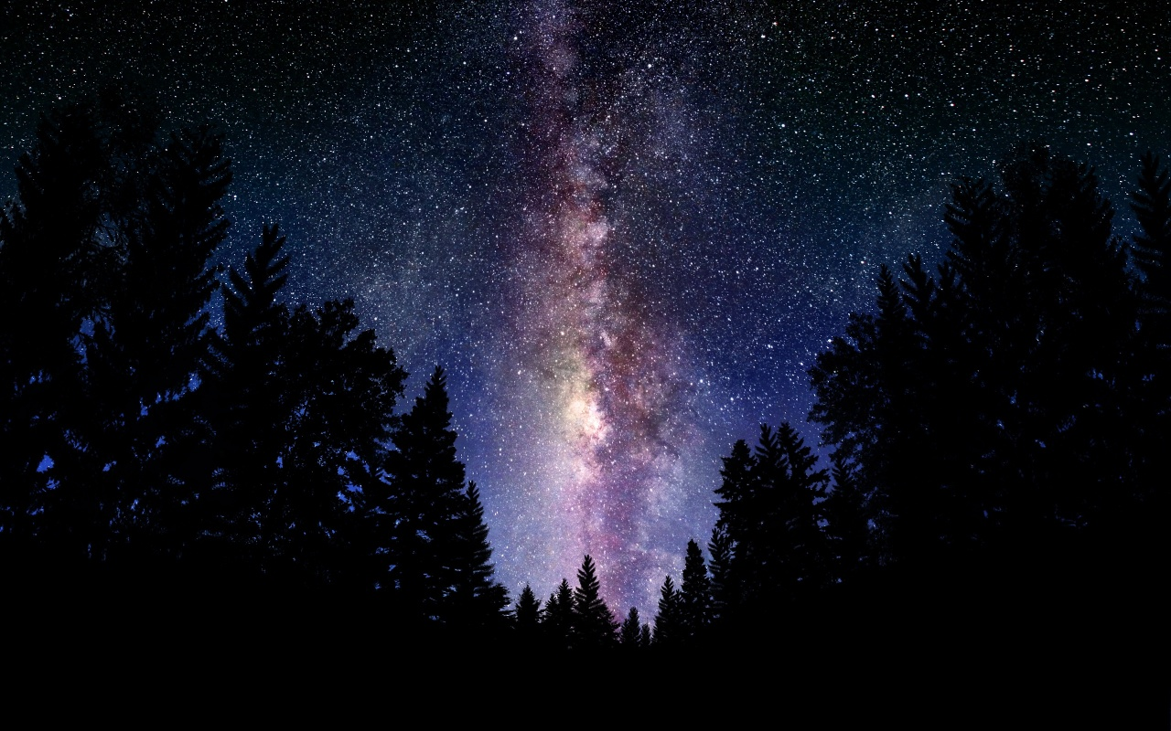Earth In Milkyway Galaxy Backgrounds