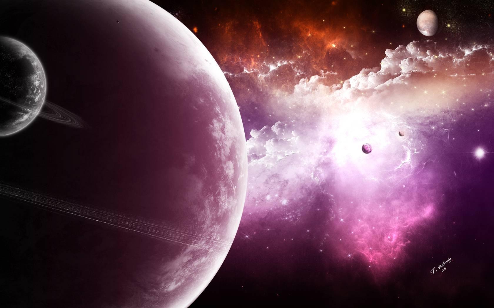 Fantasy Space Nebulax Backgrounds