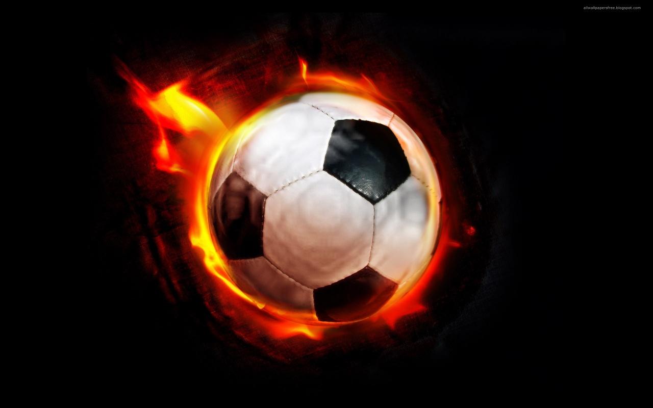 Fire Football Backgrounds