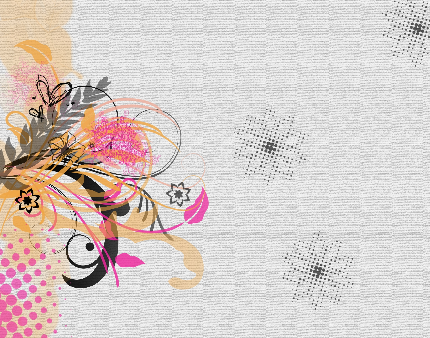 Floral Abstract Design Backgrounds