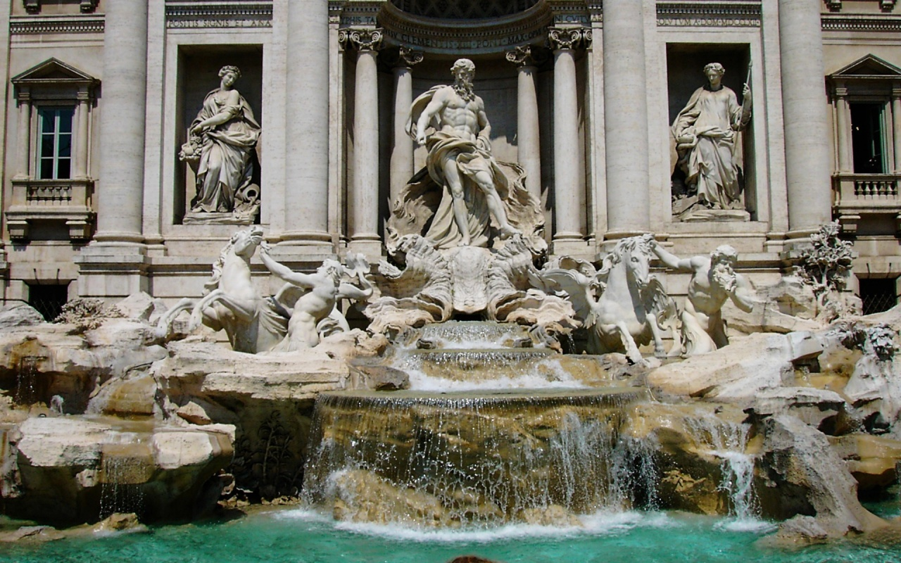 Fontana Di Trevi Backgrounds