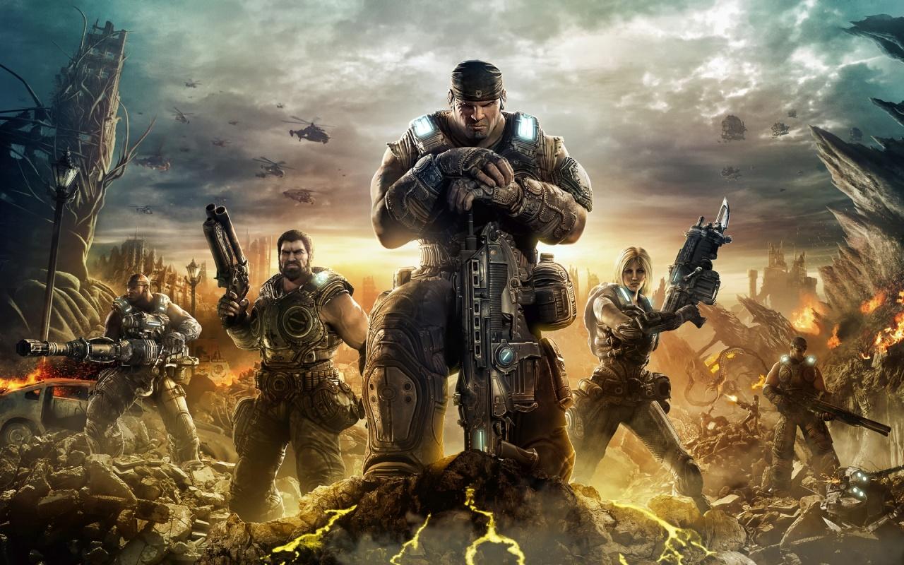 Gears Of War 3 Backgrounds