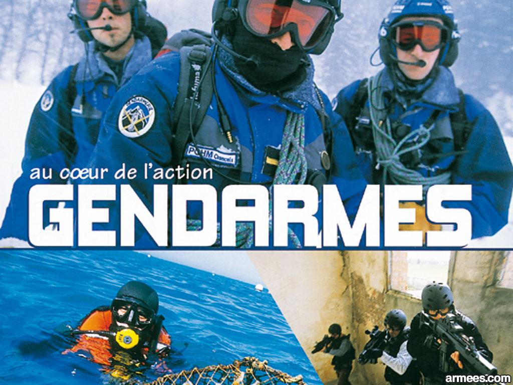 Gendarmes Wallaper Action Coeur Backgrounds