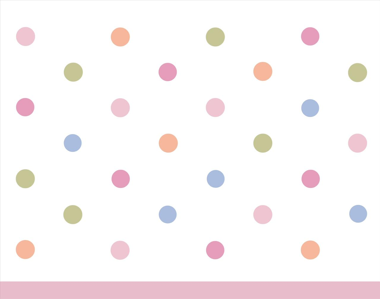 Girl Power Dots Backgrounds