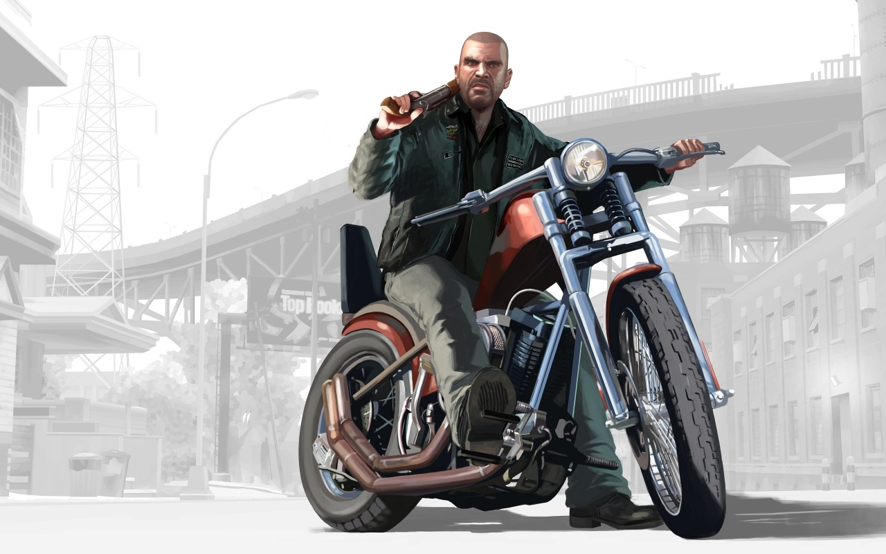 Gta 4 Street Bike Backgrounds