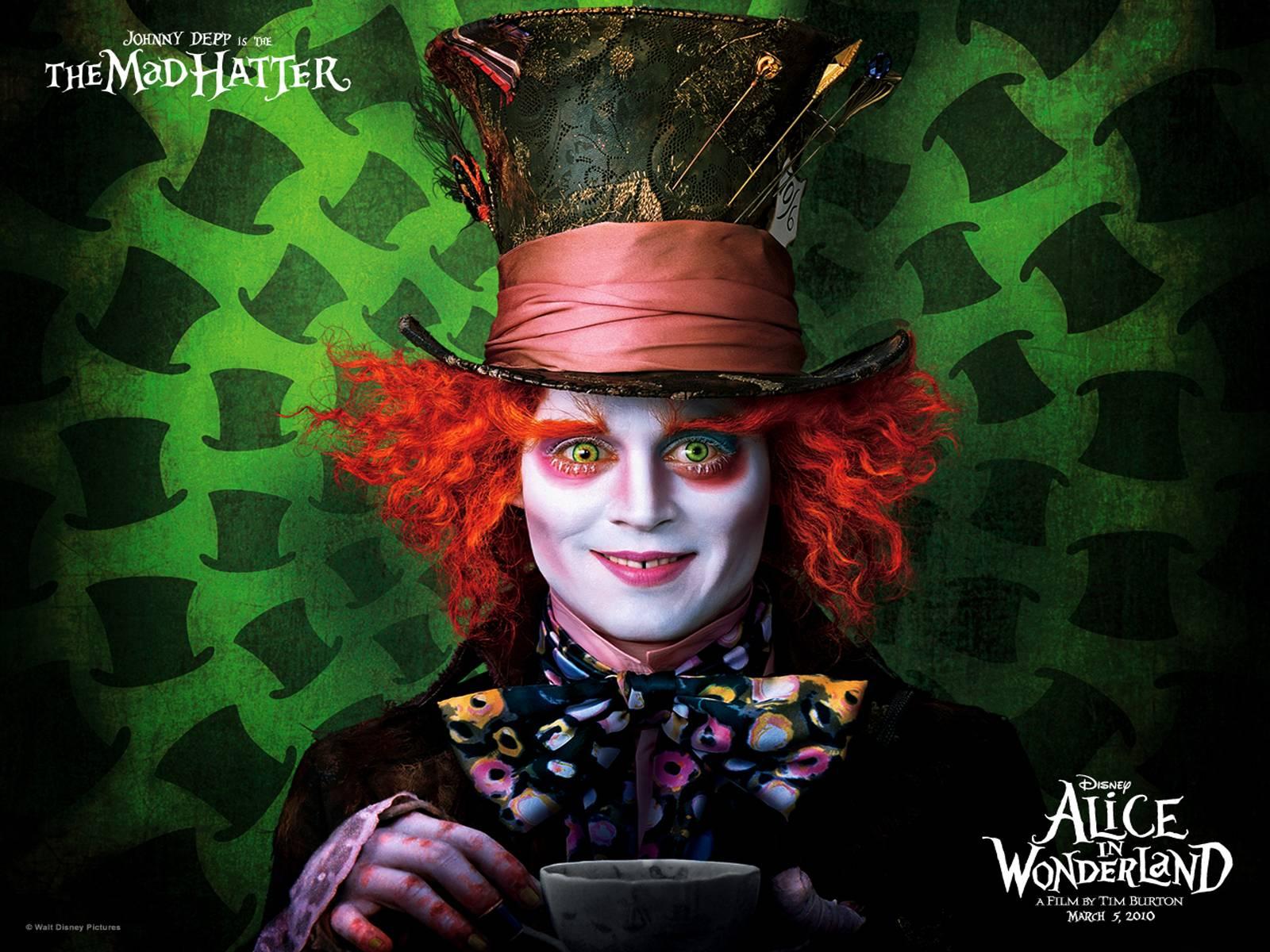 Hatter Wonderland Alice Movies
