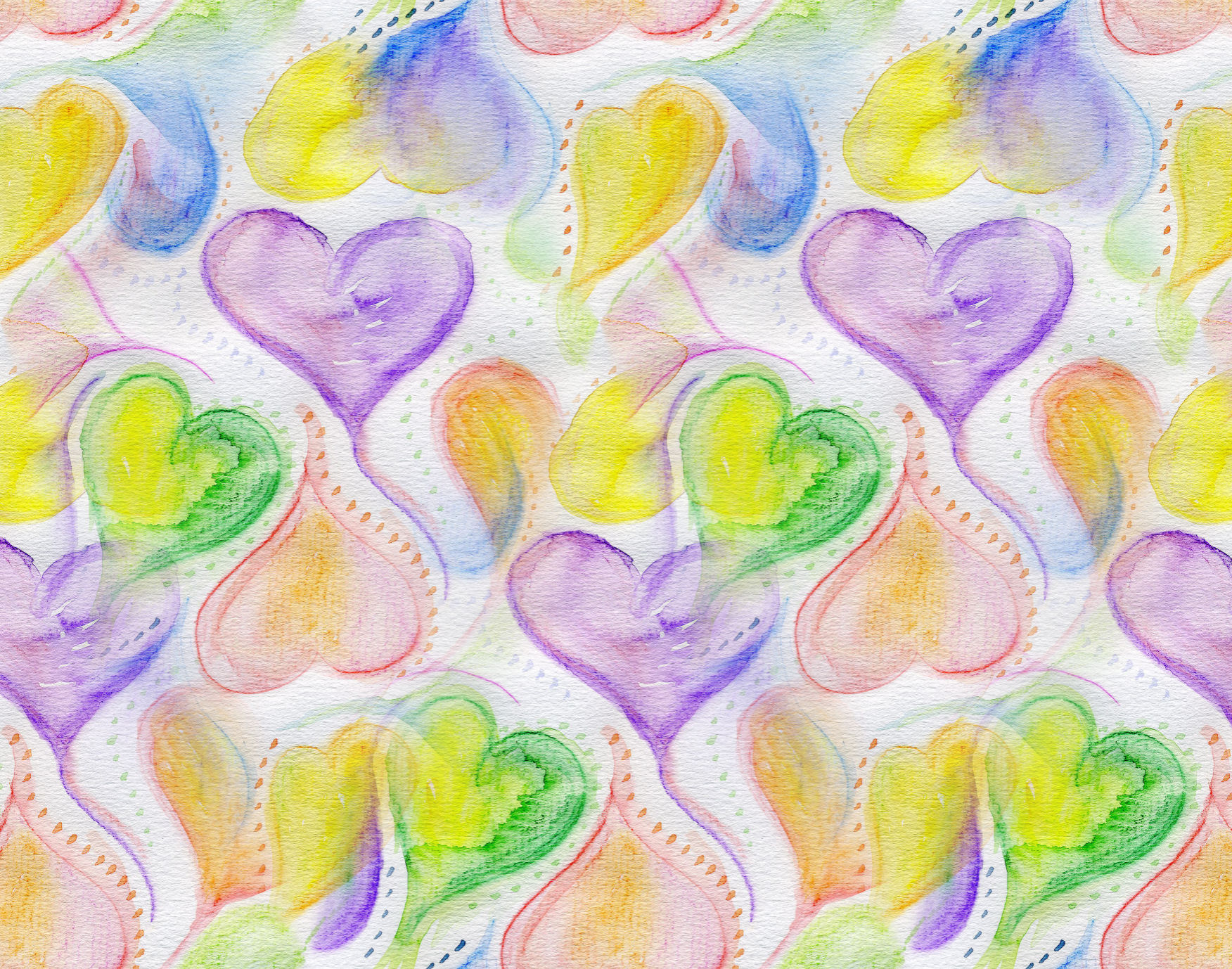 Hearts and Dots Backgrounds