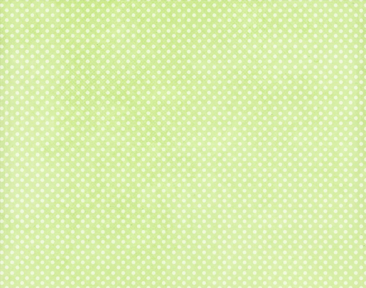 Ivory Dots on Green Backgrounds