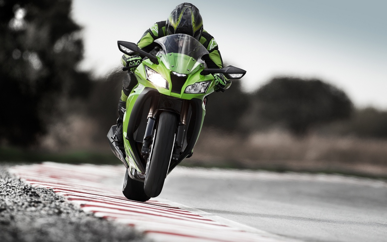 Kawasaki Racing Backgrounds