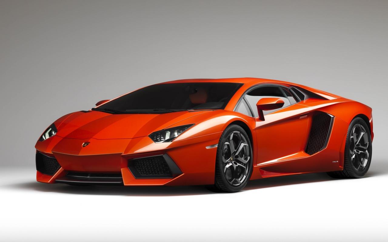 Lamborghini Aventador Orange Backgrounds