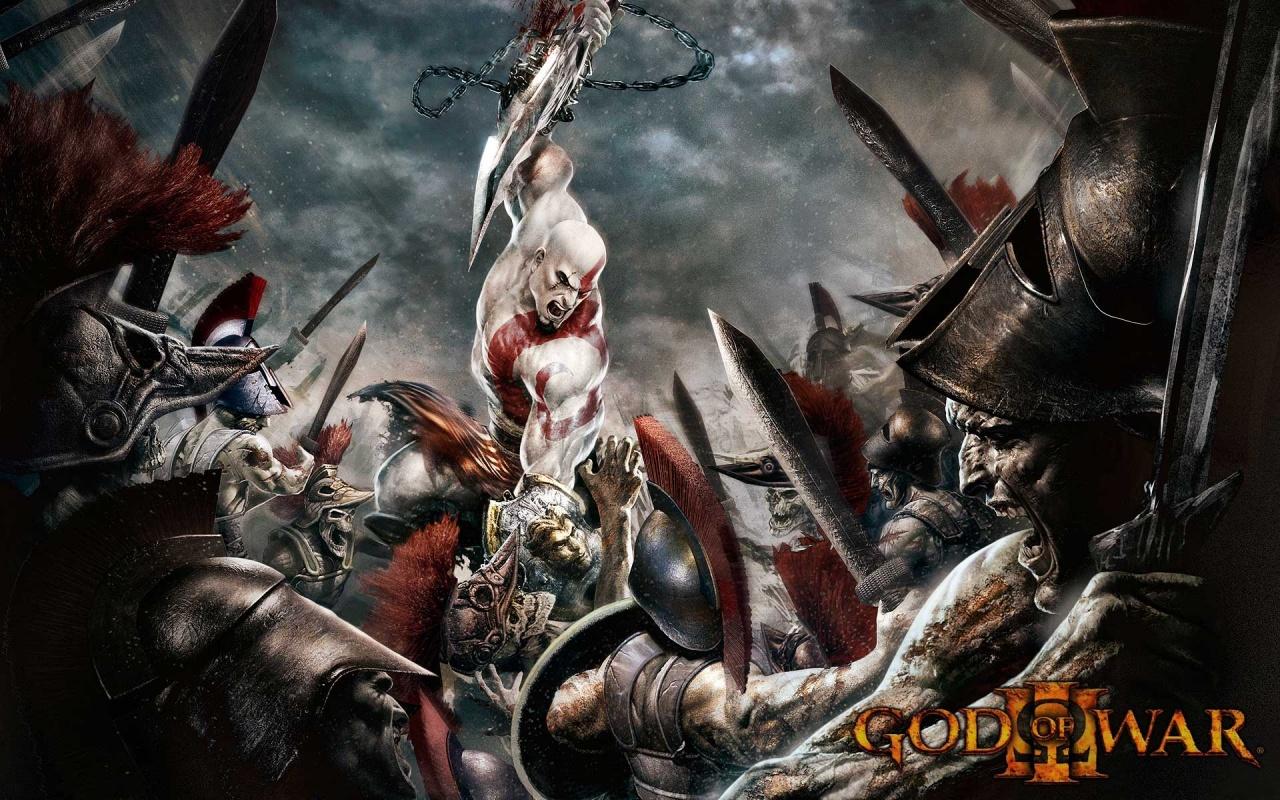 Latest God Of War 3 Backgrounds