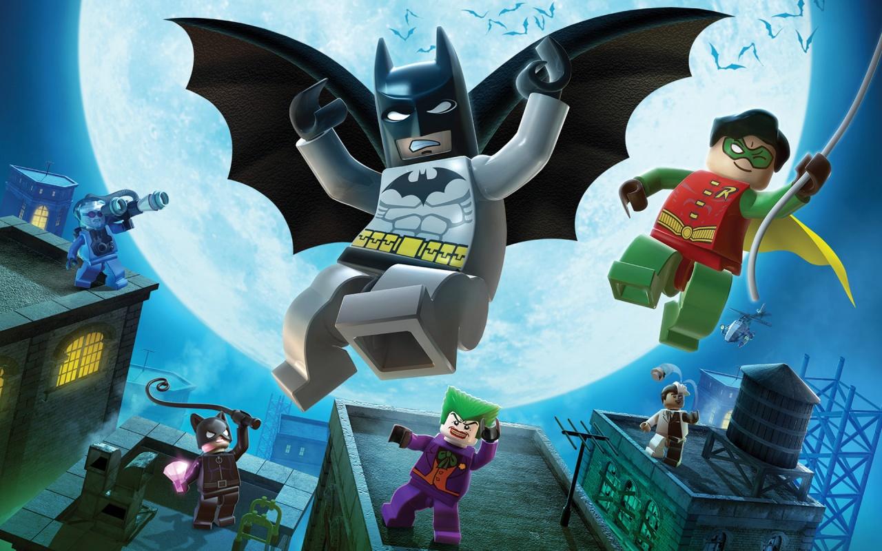 Lego Cartoon Batman Game Backgrounds