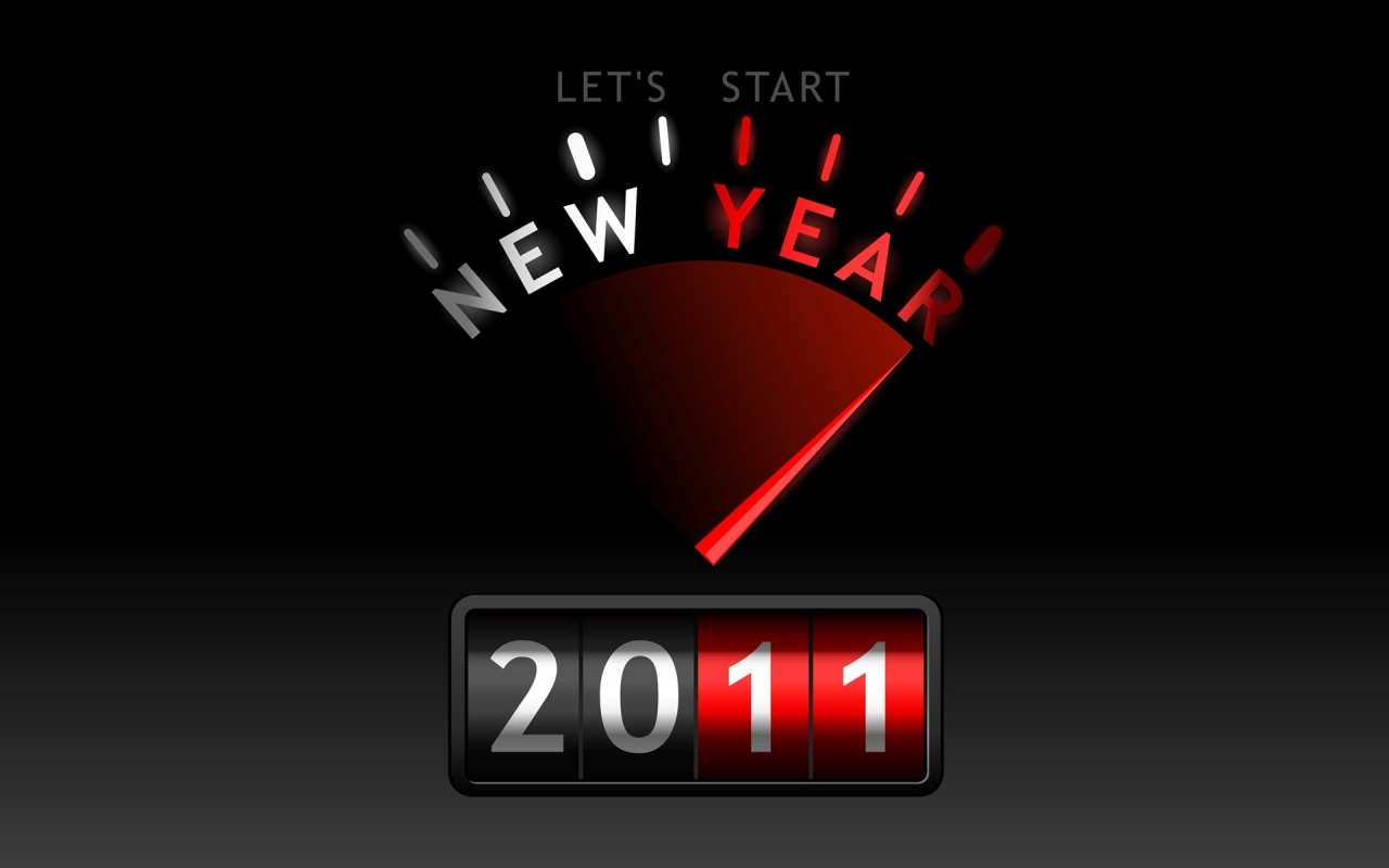 Lets Start New Year Backgrounds