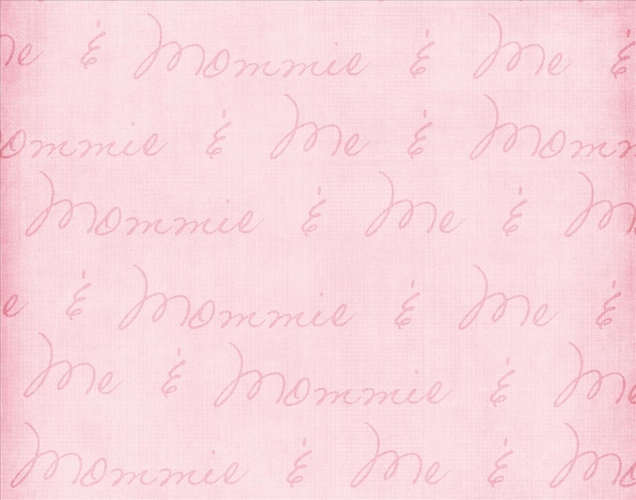Mommy and Me Pink Backgrounds
