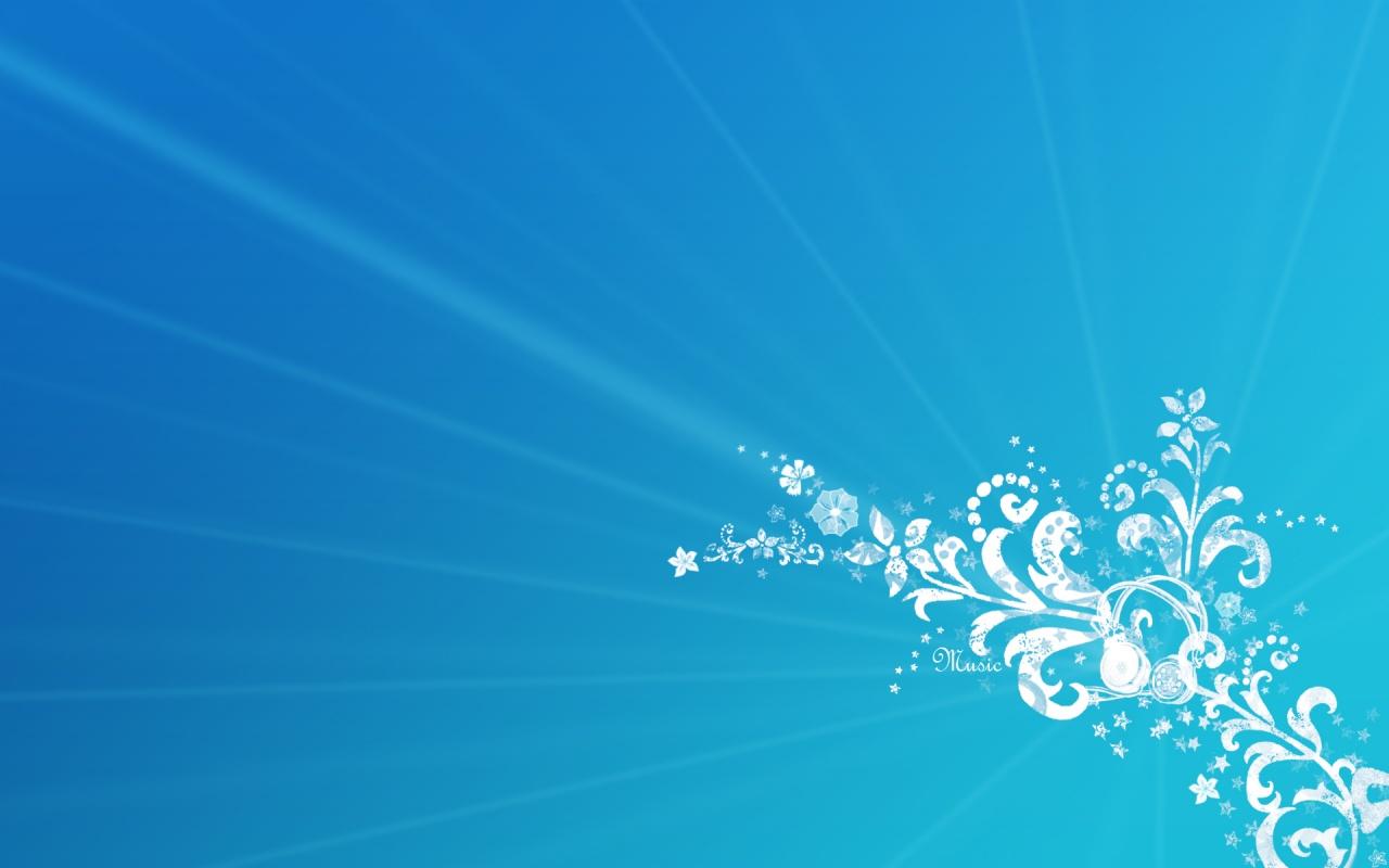 Music Blue Design Backgrounds