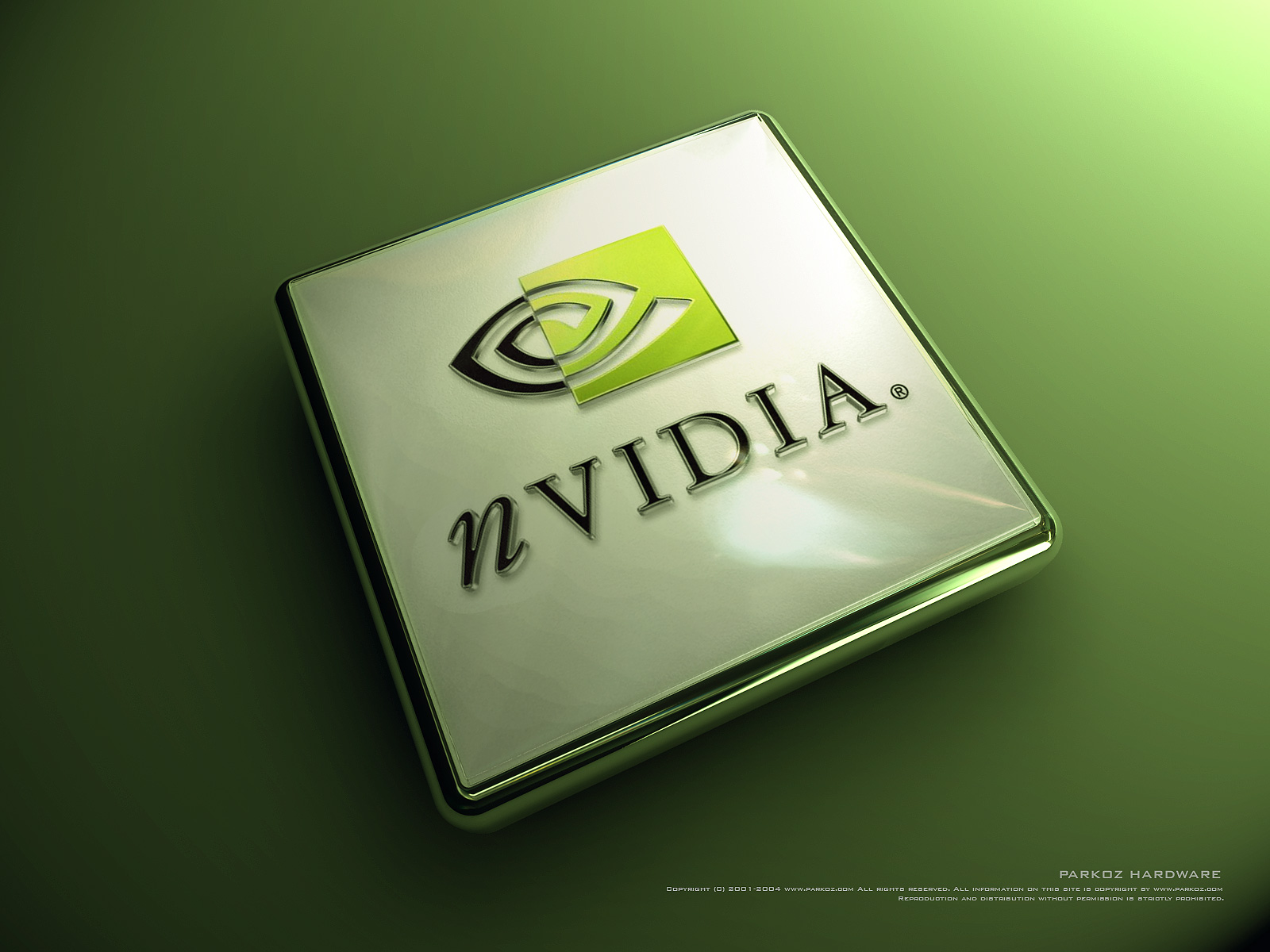 Nvidia Graphics Processor 3D Logo & Design Backgrounds