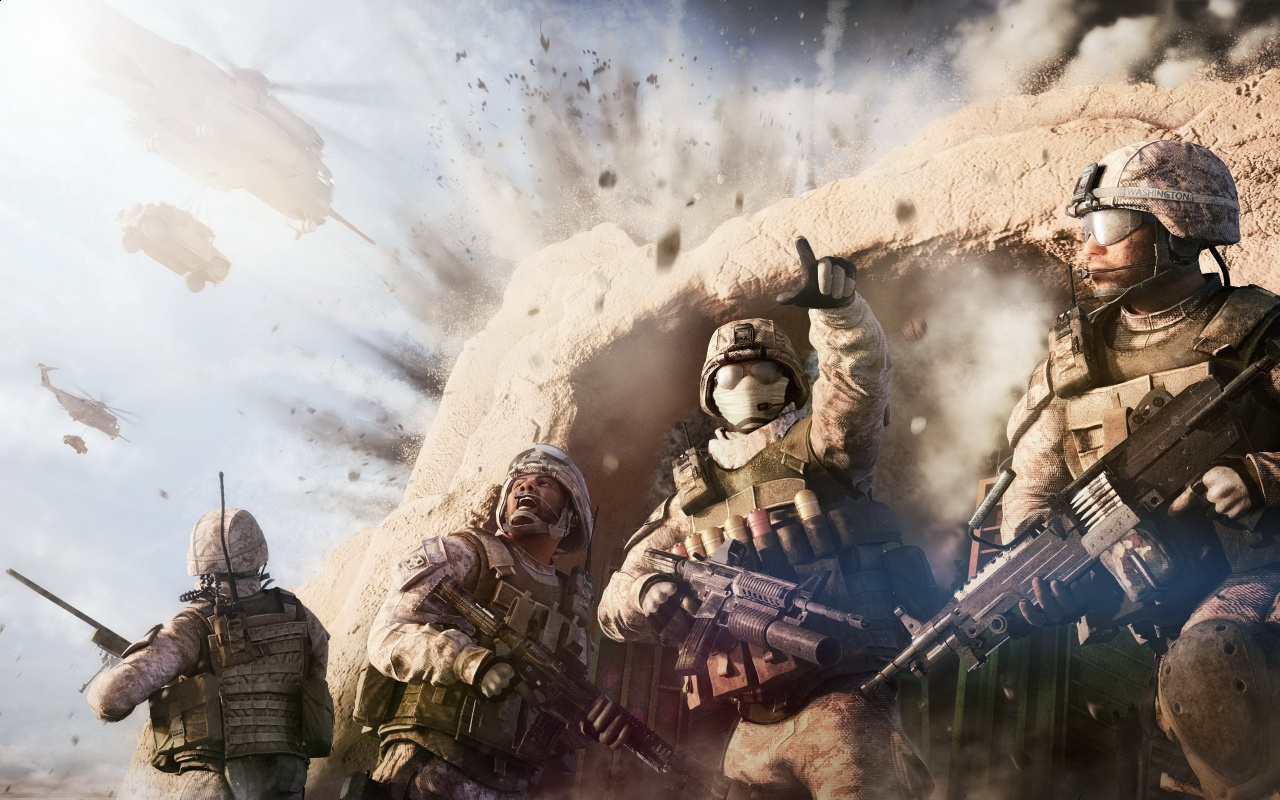 Operation Flashpoint Red River Game Backgrounds