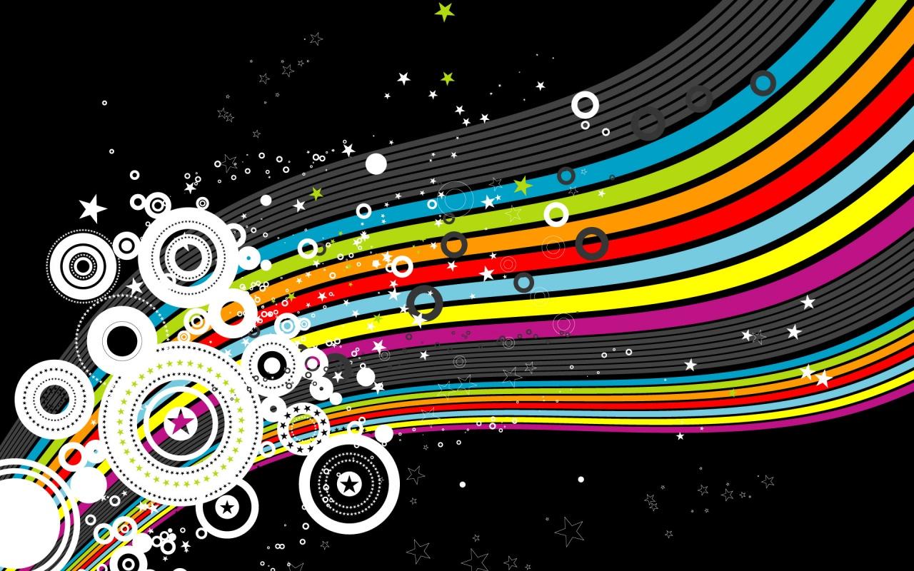 Rainbow Flow Colors Backgrounds