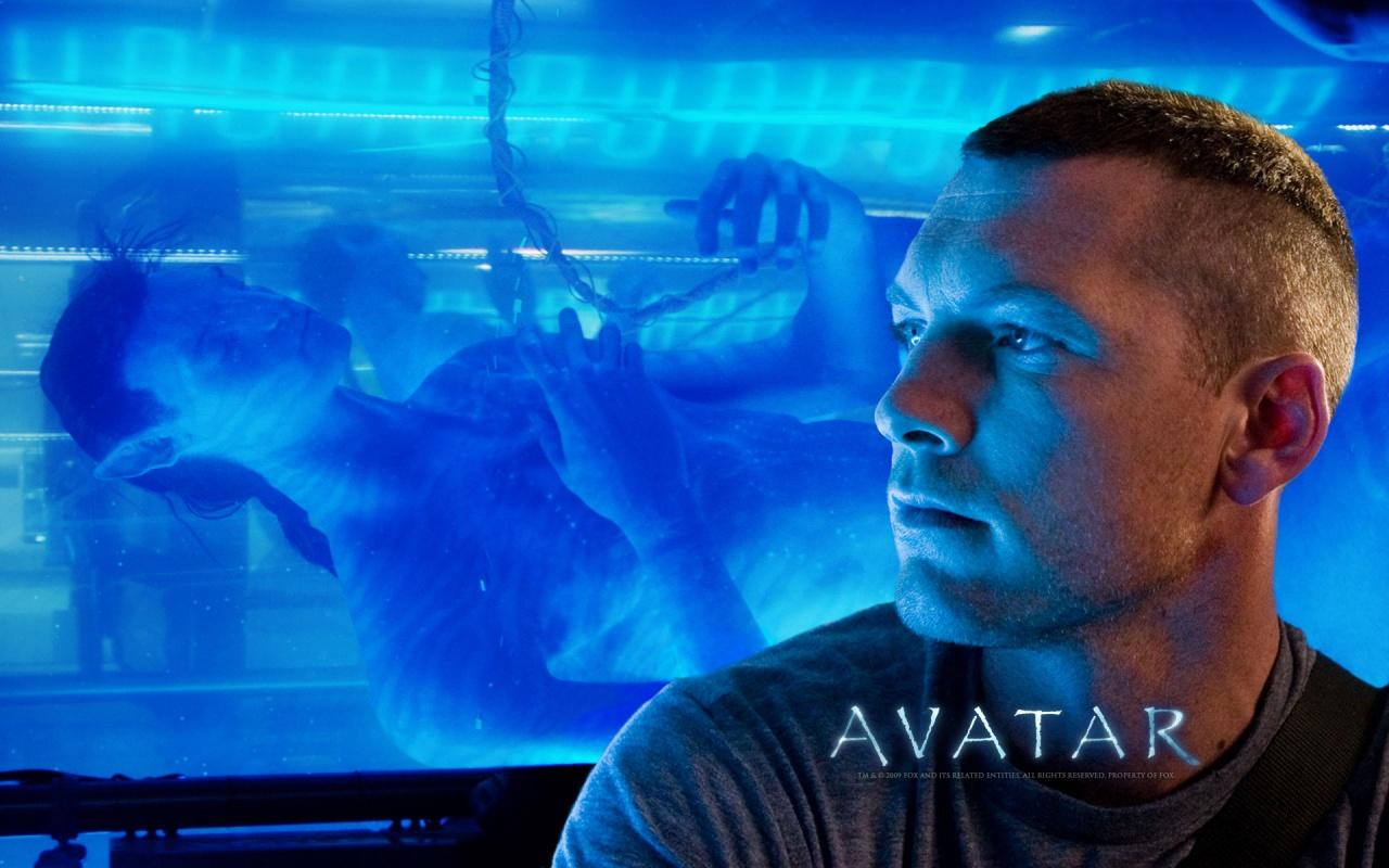 Sam Worthingto As Avatar Hero Backgrounds