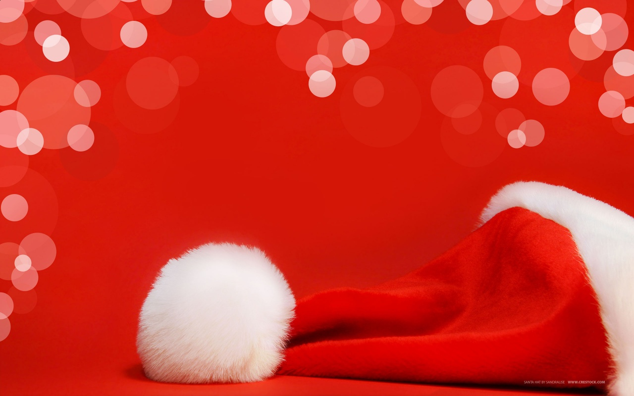 Small Santas Hat Backgrounds