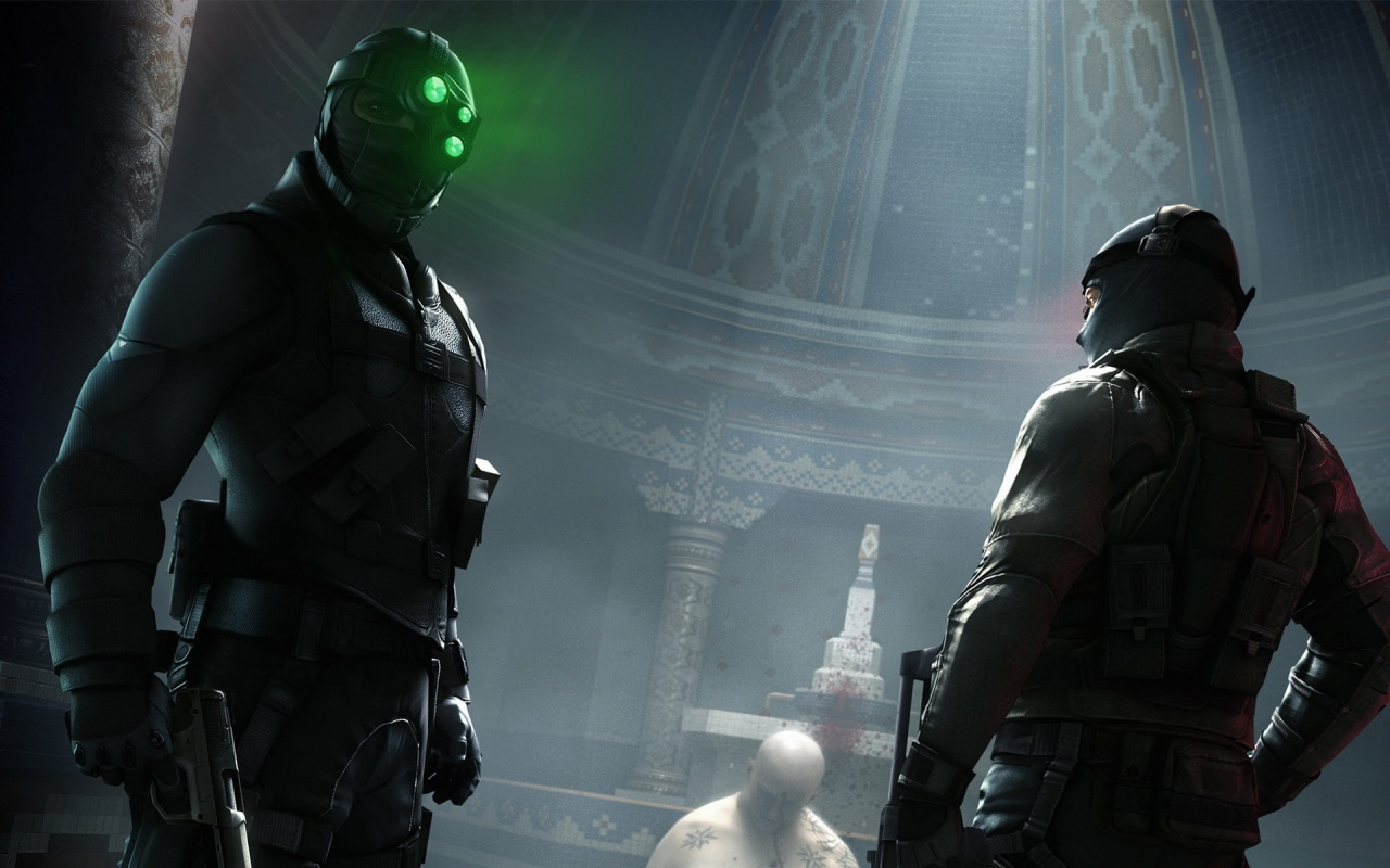 Splinter Cell Conviction 2010 Game Play Backgrounds