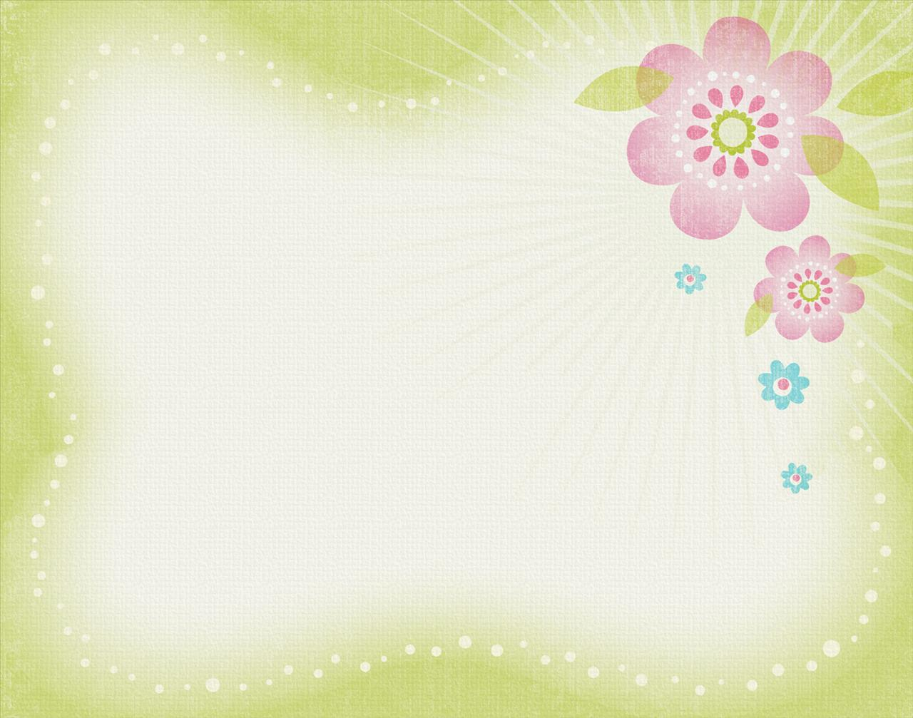 Spring Flower Floral Backgrounds