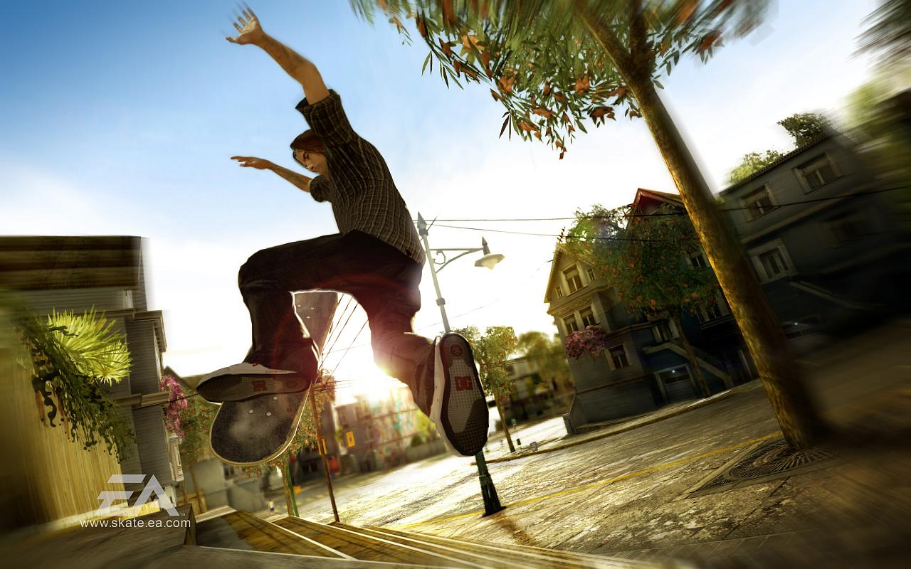 wallpaper skateboarding hd