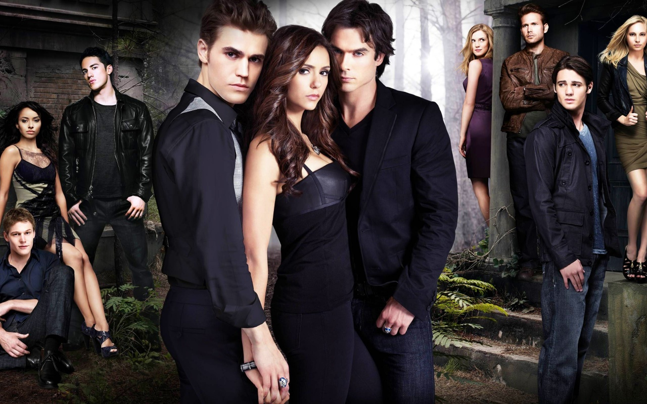 The Vampire Diaries Season 2 Backgrounds