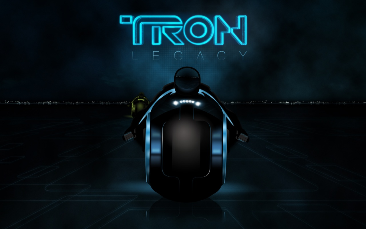 Tron Legacy 2010 3D Movie Backgrounds